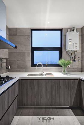 140平米四室两厅现代简约风格厨房图片