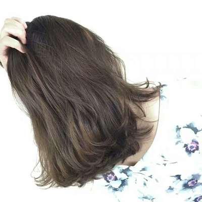 丽人 美发图库 免打理烫发效果图  6956 创意烫发 中发 女 专业精剪图片