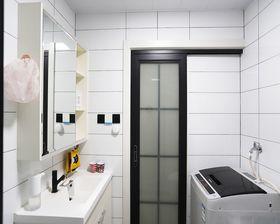 60平米一室一廳現代簡約風格衛生間裝修效果圖