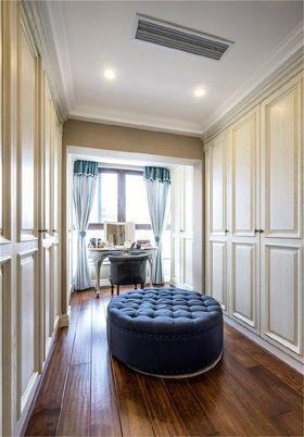 130平米三室一厅美式风格衣帽间装修案例