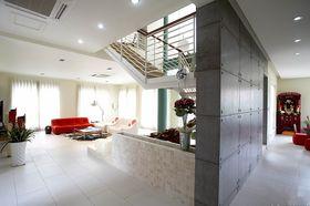 豪华型140平米四室两厅混搭风格客厅装修效果图
