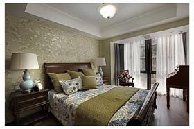 130平米四室两厅中式风格卧室图片