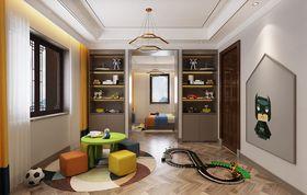 140平米别墅中式风格儿童房设计图