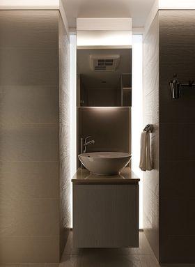 15-20万140平米三室两厅现代简约风格卫生间图片