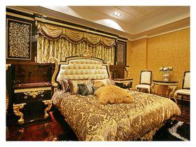 90平米三室两厅欧式风格卧室装修效果图
