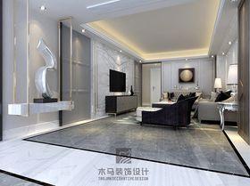 140平米三北欧风格客厅设计图
