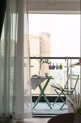 80平米北欧风格阳台图