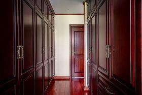 140平米三室一厅中式风格衣帽间装修图片大全