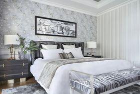 130平米一室一廳現代簡約風格臥室設計圖
