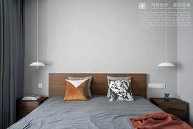 140平米三现代简约风格卧室设计图