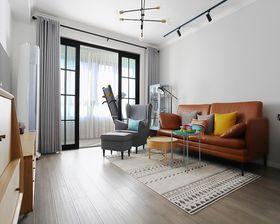 60平米公寓現代簡約風格客廳效果圖