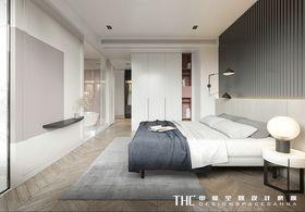 100平米英伦风格卧室装修效果图