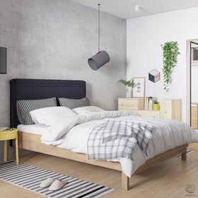 富裕型90平米三室一厅日式风格卧室设计图