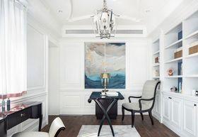 90平米三室兩廳美式風格書房圖片