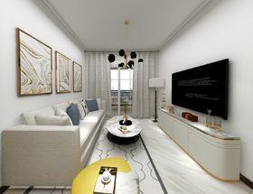 70平米現代簡約風格客廳裝修案例