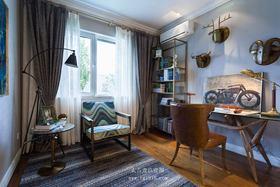 经济型120平米三室两厅混搭风格书房欣赏图