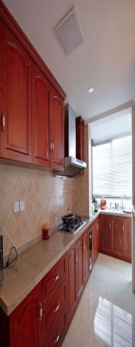 140平米三欧式风格厨房图片