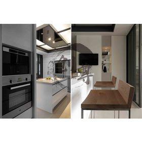 140平米四现代简约风格厨房欣赏图