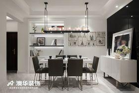 110平米三室两厅混搭风格餐厅图片