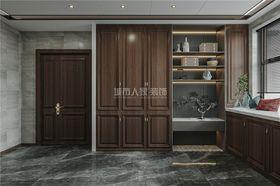 140平米三室两厅新古典风格衣帽间装修图片大全