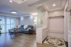 120平米三室两厅混搭风格玄关图片大全