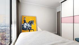80平米复式现代简约风格卧室图片大全