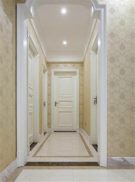 富裕型130平米三室两厅欧式风格走廊图