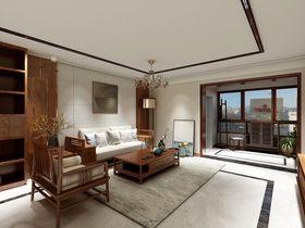 140平米四室两厅中式风格客厅装修效果图