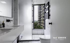130平米四室两厅现代简约风格卫生间装修效果图