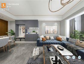 140平米三室两厅欧式风格客厅设计图