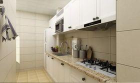 60平米现代简约风格厨房装修效果图
