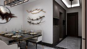 110平米三中式風格餐廳圖片大全