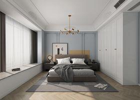 130平米三室一厅法式风格卧室设计图