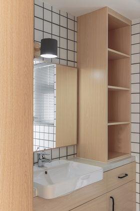 30平米小户型日式风格卫生间设计图