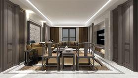 140平米三室两厅中式风格客厅装修效果图
