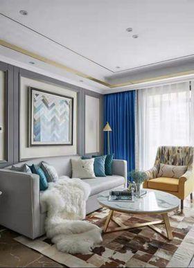 70平米欧式风格客厅图片