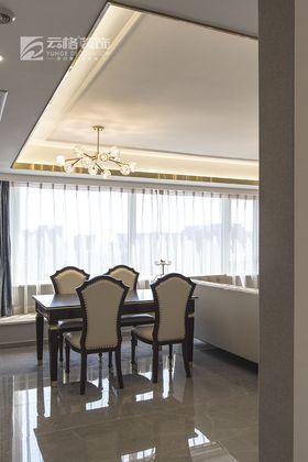 110平米一室一厅美式风格客厅图片