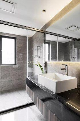 140平米四室两厅现代简约风格卫生间图片大全