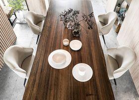 80平米現代簡約風格餐廳欣賞圖