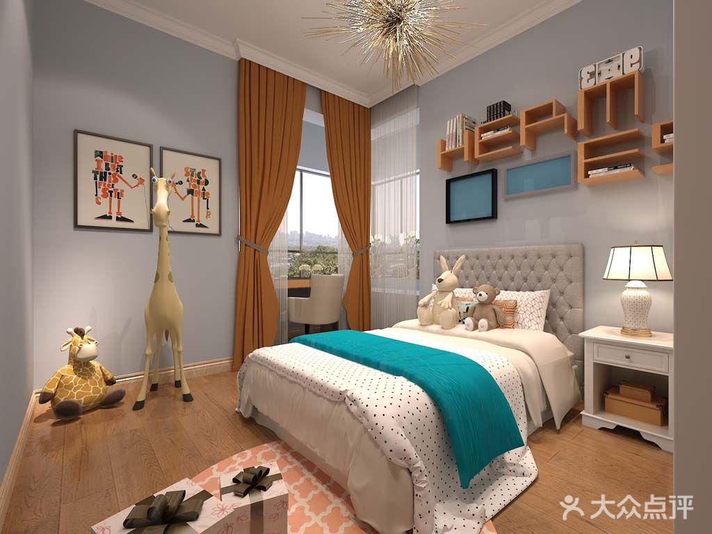 3-5万100平米三室一厅现代简约风格卧室装修案例