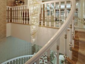 豪华型140平米三室一厅法式风格楼梯图