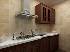 120平米三中式风格厨房装修图片大全