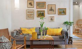 140平米三室两厅北欧风格客厅装修效果图