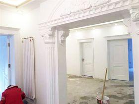 110平米三室两厅欧式风格走廊效果图