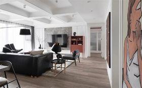 120平米三室兩廳美式風格客廳效果圖