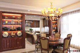 140平米四室两厅美式风格餐厅装修图片大全