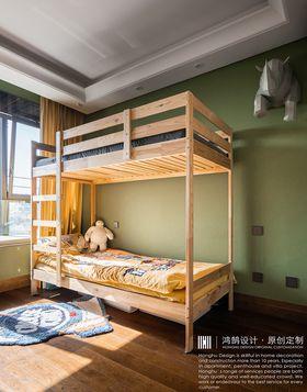 140平米三混搭风格儿童房设计图