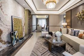 60平米現代簡約風格客廳設計圖