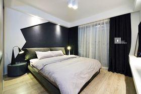 富裕型120平米三室两厅现代简约风格卧室设计图