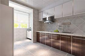富裕型140平米四室两厅美式风格厨房欣赏图